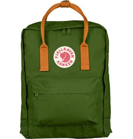 Fjällräven Kånken Rucksack in Leaf Green/Burnt Orange für 59,90€ inkl. VSK