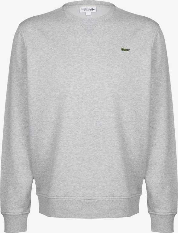 """Lacoste Sweater """"Sportswear"""" in grau ab 70,41€ inkl. Versand (statt 80€)"""