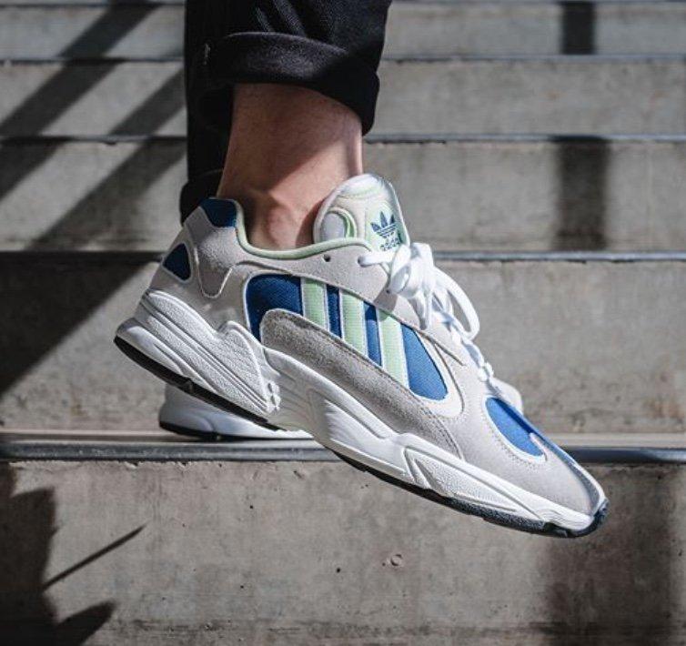 """Adidas Originals Yung-1 Sneaker im """"Grey/Royal Blue""""-Colourway für 41,40€ inkl. Versand (statt 60€)"""