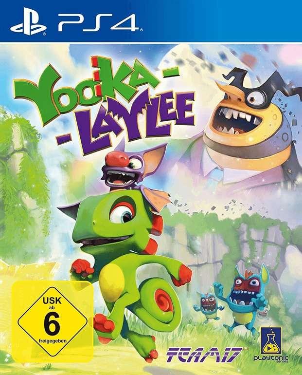 Yooka Laylee (PS4) für 9,99€ inkl. VSK (statt 17,38€) - Prime!