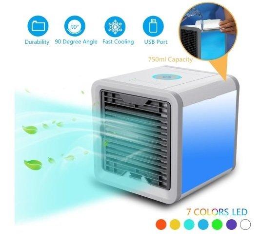 Artic Air – 750ml Mini Klimaanlage mit verschiedenen Kühlstufen & LED für 21,57€