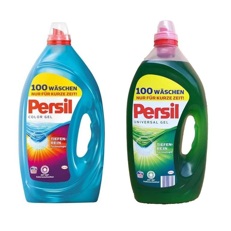 Persil Universal oder Color Gel (100 WL / 5 Liter) für 14,83€ inkl. Versand (statt 25€)