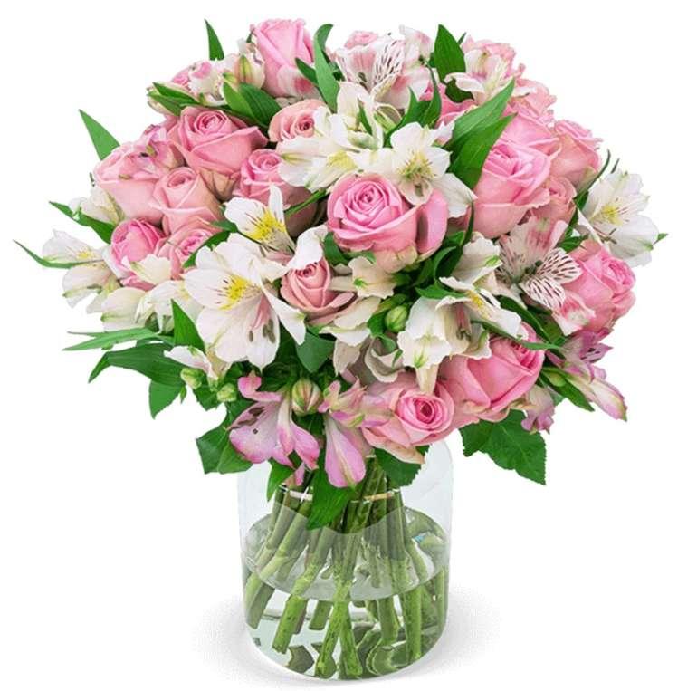 """Blumenstrauß """"Sweet Surprise"""" mit  35 Rosen und 150 Blüten für 24,98€ inkl. Versand"""