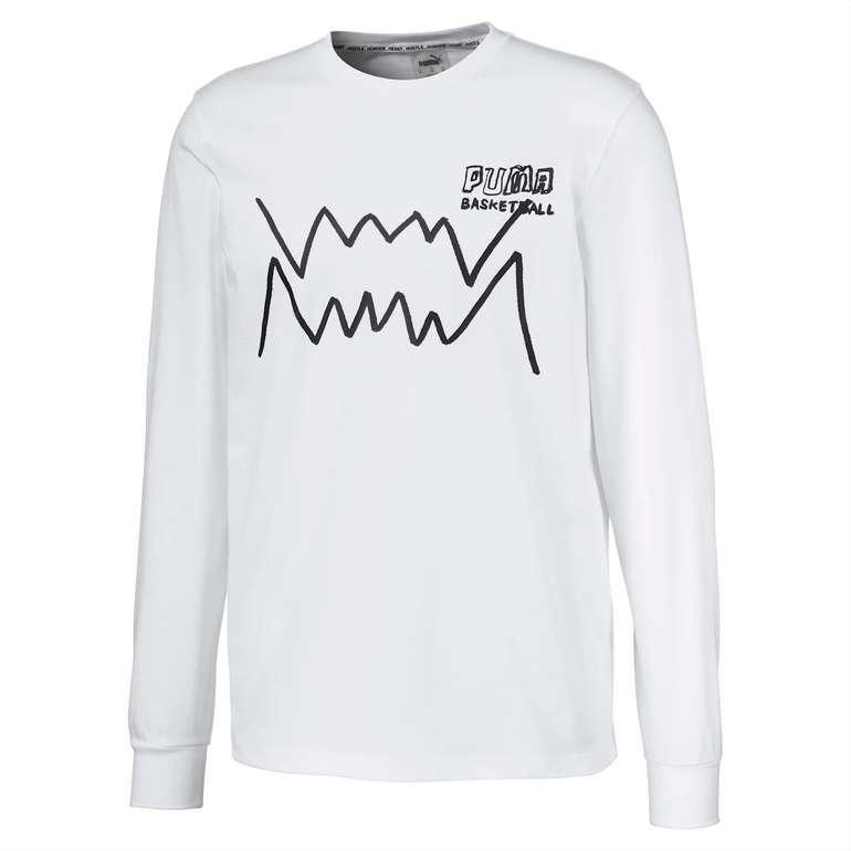Puma Bite Herren Langarm-Shirt für 16,34€ inkl. Versand (statt 24€)