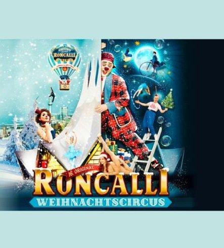 Tickets Roncalli Weihnachtscircus Berlin + 1ÜN im Premium Hotel ab 69€ p.P.