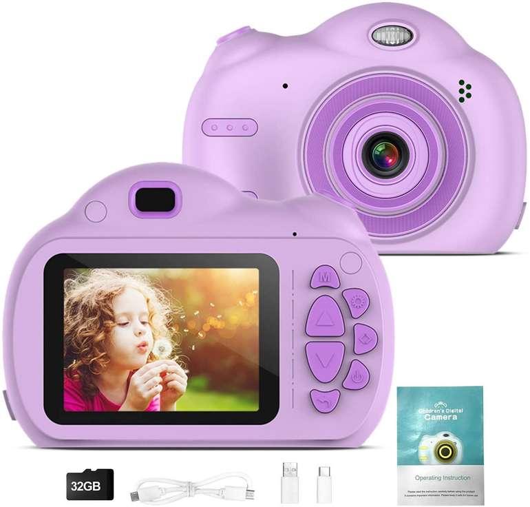 Txin Kinder 18MP/1080P Digitalkamera mit 32 GB Speicherkarte für 19,99€ inkl. Versand (statt 32€)