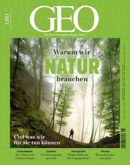 GEO Jahresabo (12 Ausgaben) für 104€ + 60€ Amazon Gutschein