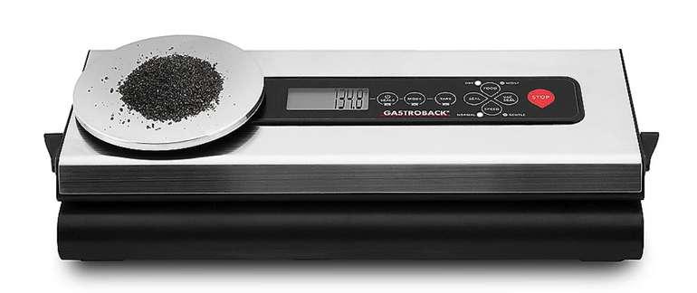 Gastroback Design Vakuumierer Advanced Scale (46012) für 59,89€inkl. Versand (statt 90€)