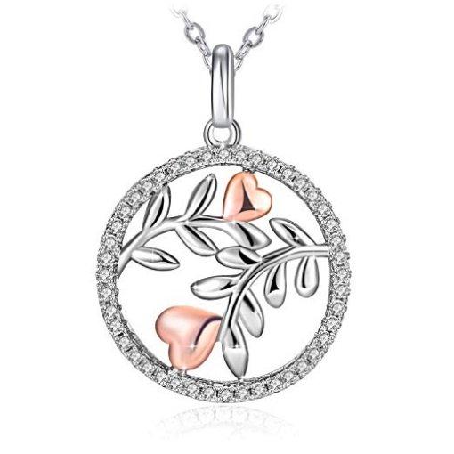 """J.Rosée Halskette """"Ewige Liebe"""" (Zirkonia, 925er Silber) für 7,46€ inkl. Prime VSK"""