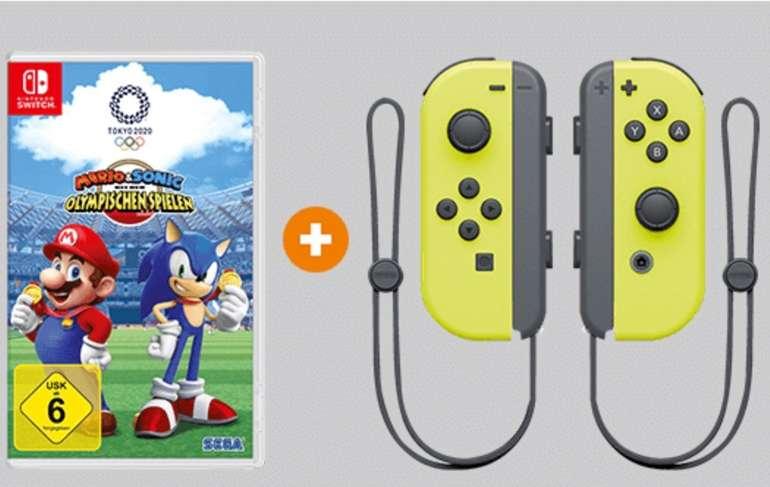 Mario & Sonic bei den Olympischen Spielen: Tokyo 2020 [Switch] + Joy Con 2er Set nach Wahl für 99€