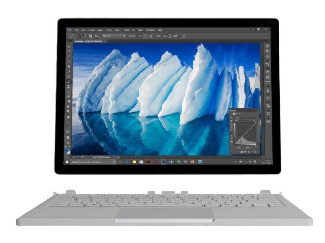 Microsoft Surface Book (i7, 8GB, 256GB SSD) + Maus, Pen & Dock 1.949€ st. 2.241€