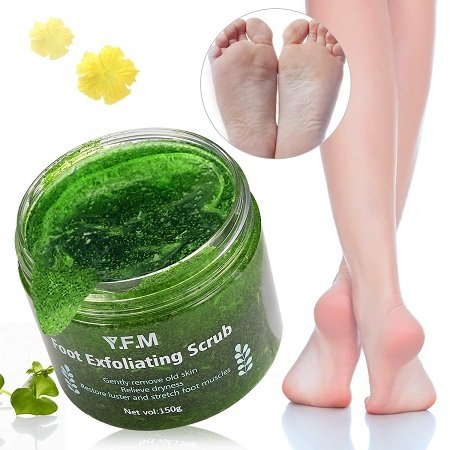LuckyFine - Fuß Peeling Gel / Maske für 7,14€ inkl. VSK (Prime)