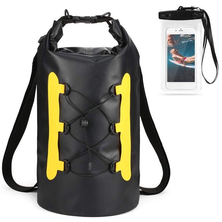 Lixada Dry Bag - 15L Wasserdichter Roll-Top Packsack für 11,49€ inkl. Prime (statt 23€)