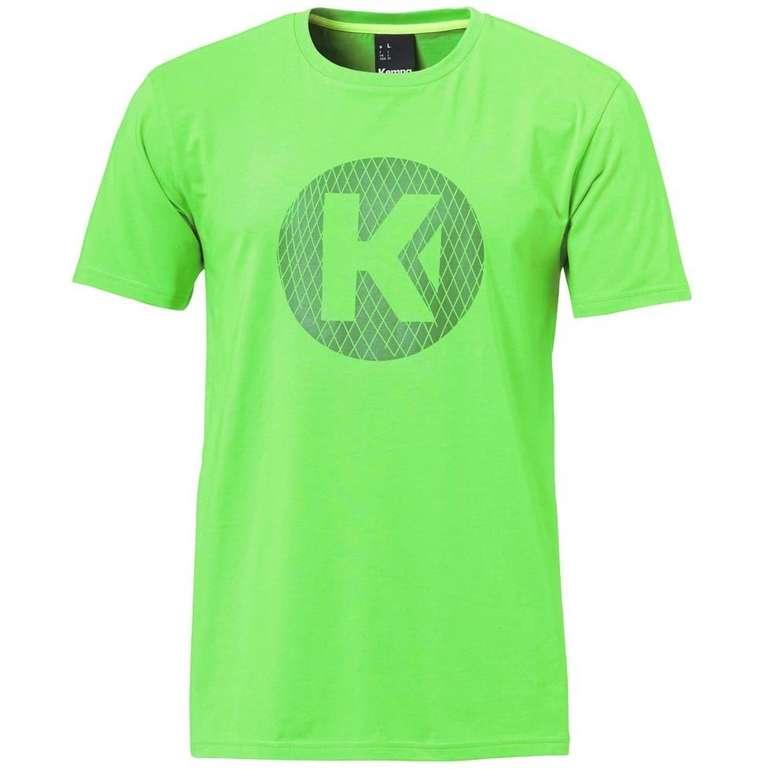 Kempa K-Logo Herren T-Shirt in Grün für 9,94€ inkl. Versand (statt 14€)