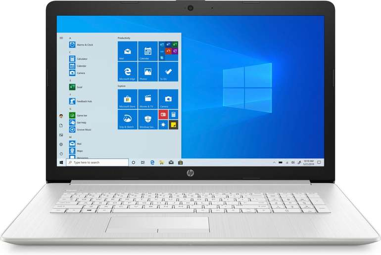"HP 17-ca2346ng - 17,3"" Notebook (Ryzen 3, 12GB RAM, 512GB SSD, Radeon) für 426,65€ inkl. Versand (statt 585€)"