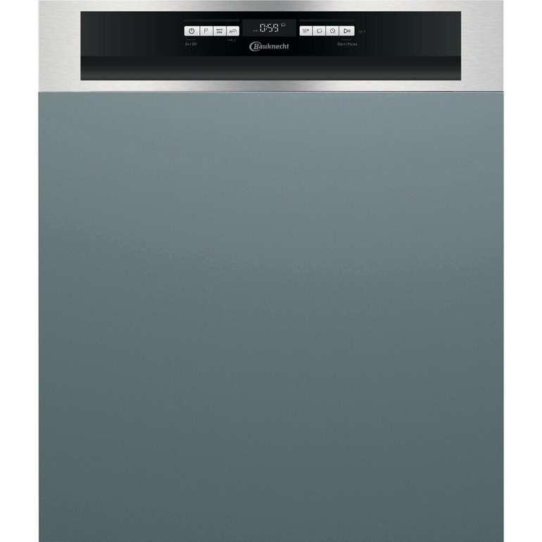 Bauknecht BBO 3C33 C X Geschirrspüler (teilintegrierbar, 600 mm breit, 43 dB (A), D) für 329,40€ inkl. Versand (statt 496€)
