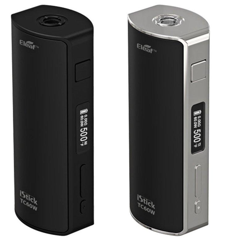 Eleaf iStick TC60W Box Mod - E-Zigarette bis 60W für 34,97€ (statt 45€)