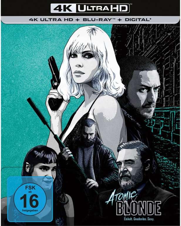 Atomic Blonde - Steelbook Edition (4K UHD Blu-ray + Blu-ray) für 18,98€ inkl. Versand (statt 28€)