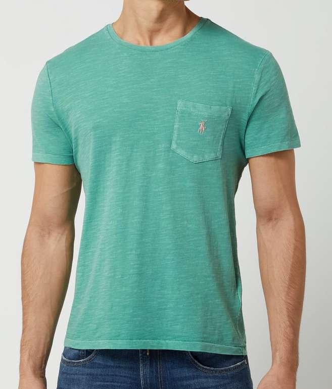 Polo Ralph Lauren T-Shirt aus Slub Jersey in Grün für 50,99€inkl. Versand (statt 67€)