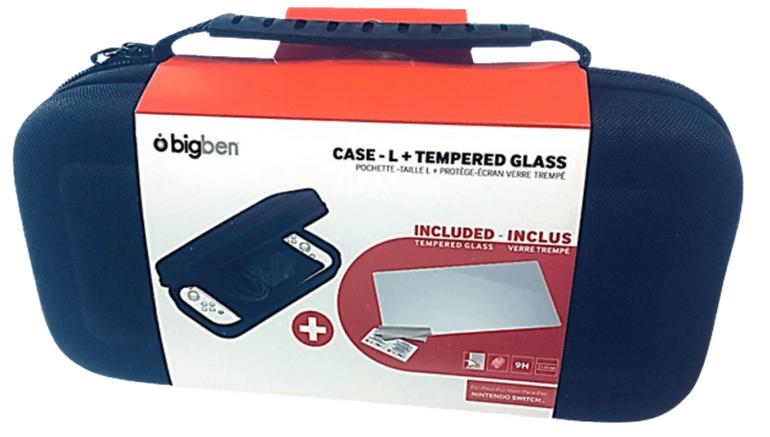 Bigben Nintendo Switch Case L + Tempered Glass für 12€ inkl. Versand (statt 20€)