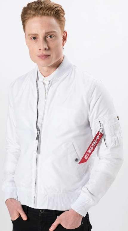Alpha Industries Herren Jacke MA-1 TT in weiß für 79,92€inkl. Versand (statt 109€)