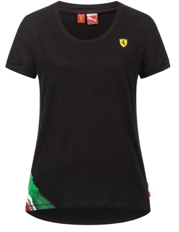 Puma x Scuderia Ferrari Logo Graphic Damen T-Shirt für 18,94€ inkl. Versand (statt 30€)