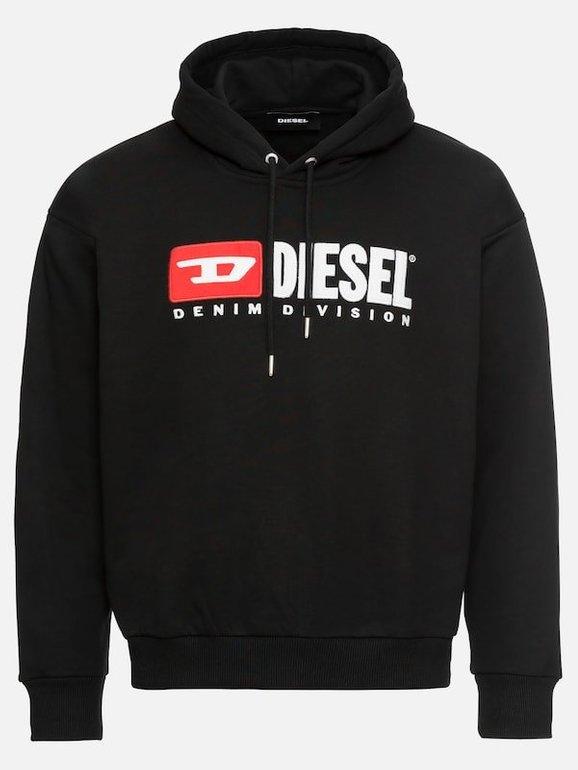 """Diesel Herren Hoodie """"S-Division Sweat-Shirt"""" für 48,55€ (Vergleich: 72€)"""
