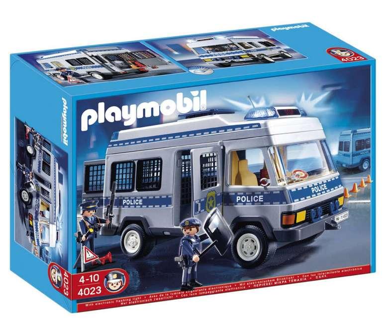 Playmobil® City Action Polizei-Mannschaftswagen (4023) für 28,94€ inkl. Versand (statt 50€)