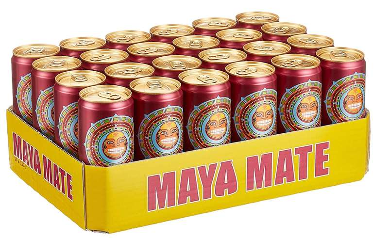 Maya Mate Granat Dosen - 24er Pack mit jeweils 330ml für 13,99€ (statt 19€)
