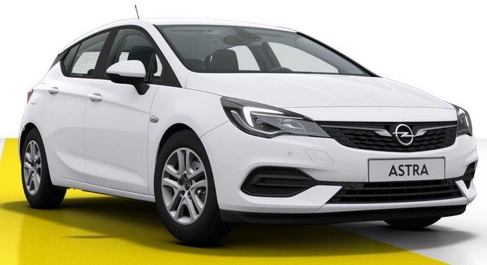 Gewerbe Leasing: Opel Astra Edition 1.2 mit 131 PS für 68,10€ netto mtl. (Überführung: 995€, LF: 0,32)