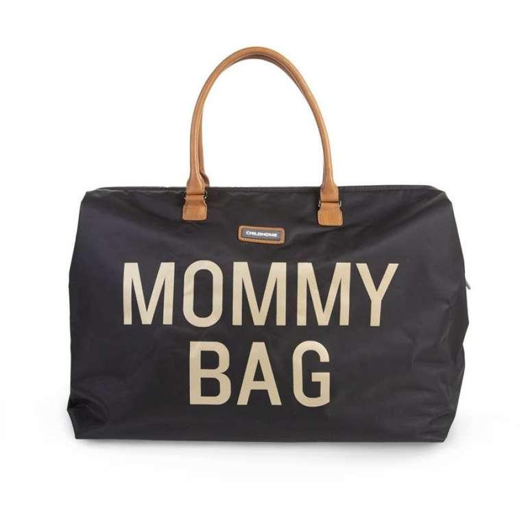Childhome Mommy Bag Groß Henkel-Wickeltasche in Black Gold für 69,15€ inkl. Versand (statt 97€)