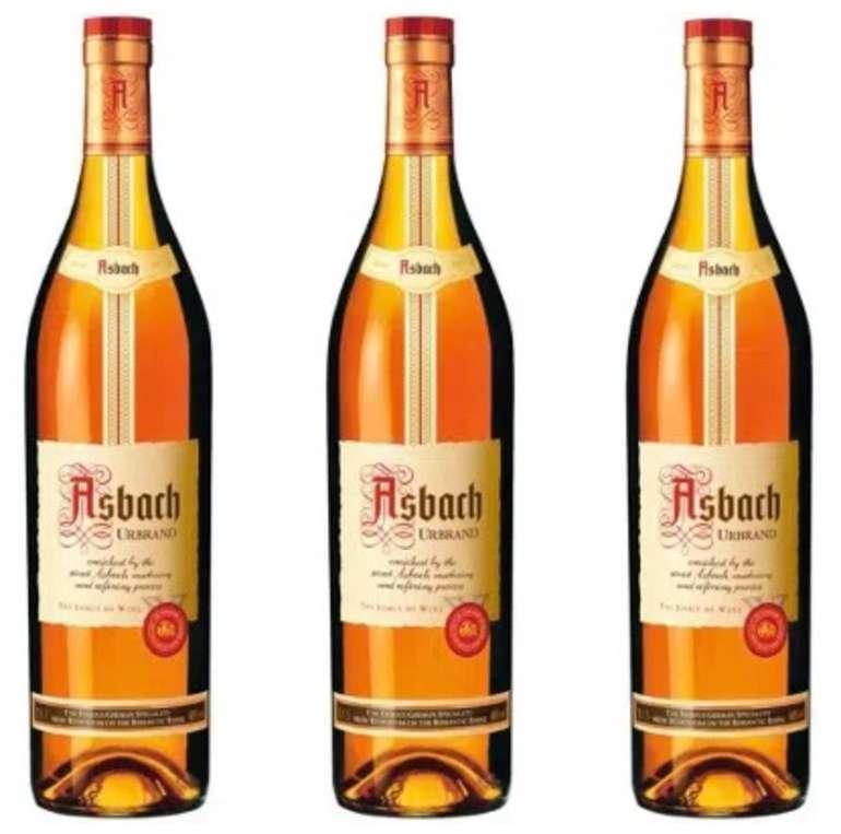 3x 1 Liter Asbach Urbrand 40% für 45,63€ inkl. Versand (statt 55€)