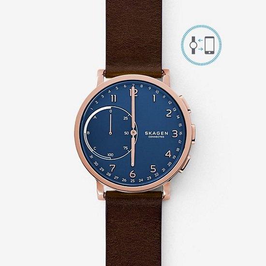 Skagen Connected Hagen SKT1103 Hybrid Smartwatch für 97,30€ inkl. Versand (statt 120€)
