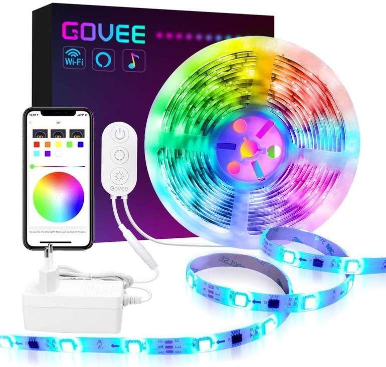 Govee Dreamcolor Wifi 5M LED Streifen (Alexa, Google Home...) für 27,99€ inkl. VSK
