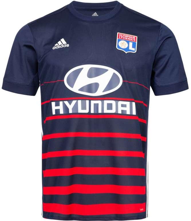 adidas Olympique Lyon Herren Auswärts Trikot für 31,94€ inkl. Versand (statt 45€)