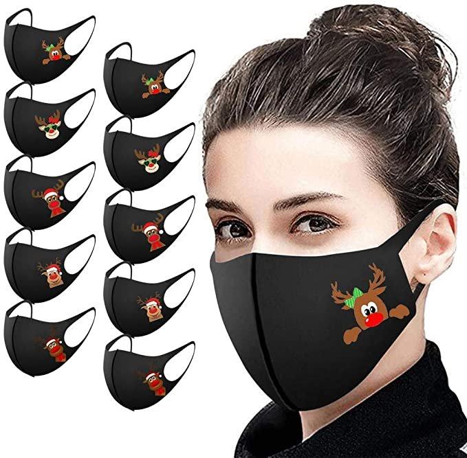 Eaylis 10er Pack Mund-Nasen-Masken (16 Designs) ab 4,26€ inkl. Versand (statt 6€)