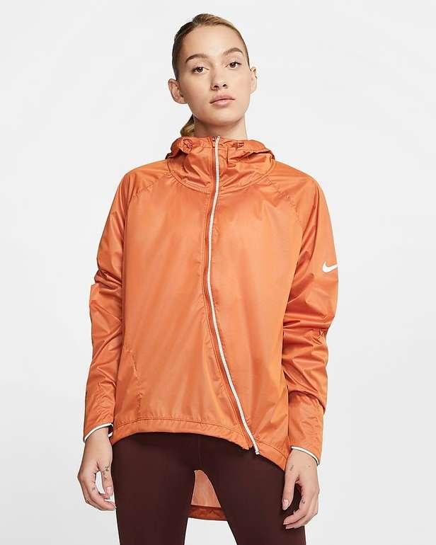 Nike Shield Damen-Laufjacke in Orange und Grau für 66,13€ inkl. Versand (statt 95€)