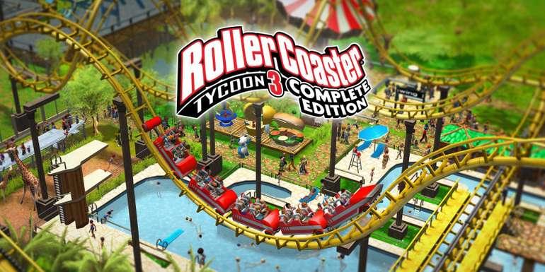 Rollercoaster Tycoon 3: Complete Edition gratis bei Epic.
