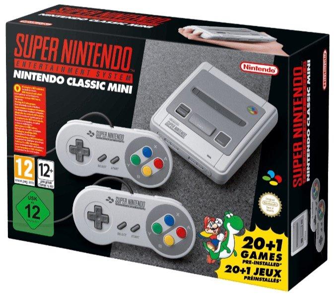 Super Nintendo Entertainment System (SNES) Mini für 64,99€ inkl. Versand