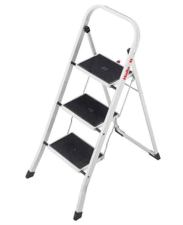 Hailo K20 – 3 Stufen Klapptritt mit Sicherheitsbügel für 29,99€ inkl. Versand (statt 43€)