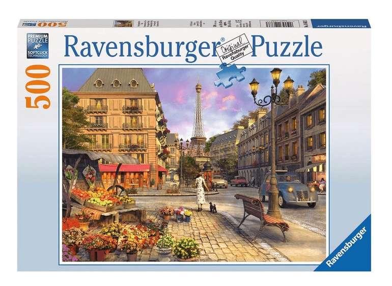 "Ravensburger Puzzle ""Spaziergang durch Paris"" (500 Teile) für 5,99€ (statt 9€) - KultClub!"