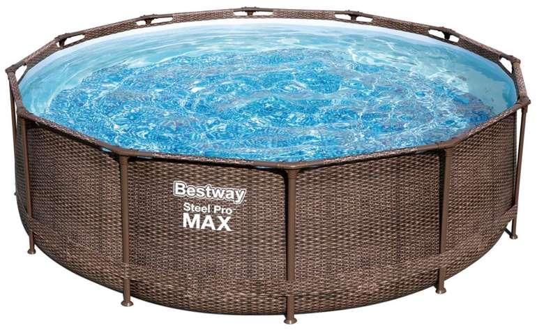 Bestway Pool Steel Pro Max Deluxe (Ø 366 x 100 cm) für 153,95€ inkl. Versand (statt 240€)