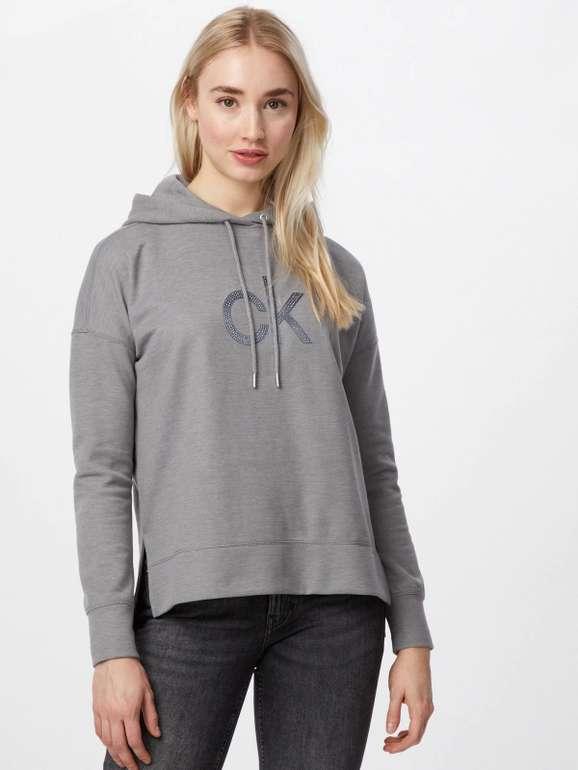 """Calvin Klein Sweatshirt """"Rhinestone"""" in Grau (Größe XS, S) für 57,90€ inkl. Versand (statt 71€)"""