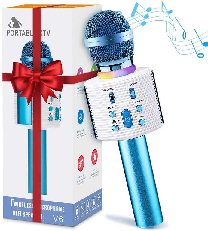 Nasum Bluetooth Karaoke Mikrofon für 11,69€ inkl. Prime Versand (statt 18€)