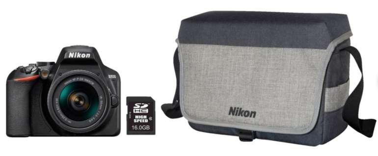 Nikon D3500 Spiegelreflexkamera + Kit 18-55 mm + Tasche für 303,99€ inkl. Versand (statt 349€)