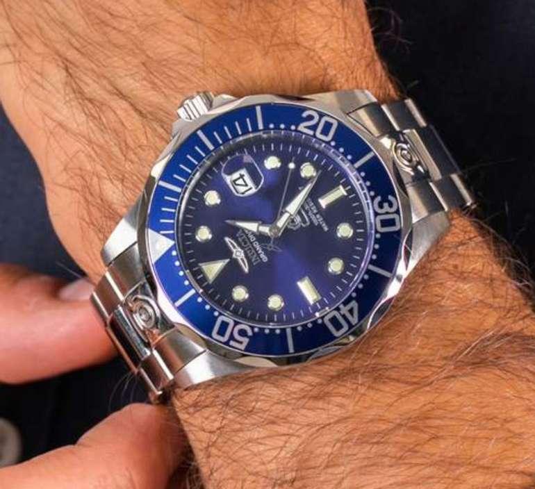Invicta 3045 Pro Diver Herren Uhr (Edelstahl, Automatik, 47mm, 30 bar) für 95,83€ (statt 120€)
