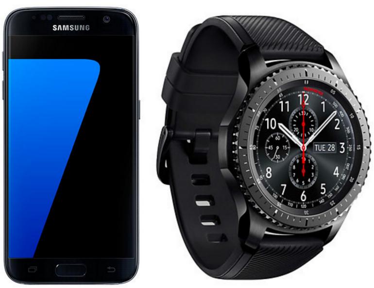 Samsung Galaxy S7 + Samsung Gear S3 Frontier für je 333€ inkl. Versand