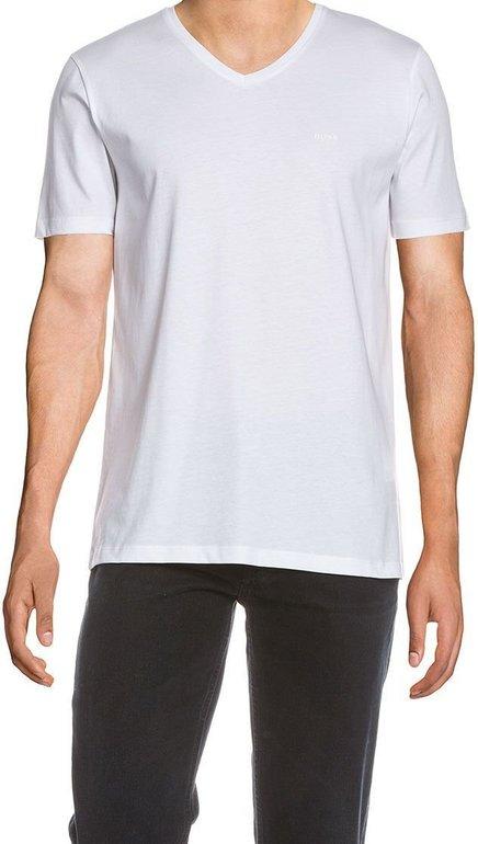 Hugo Boss T-Shirt Canistro 80 als V Neck in Größe S, M & L für 24,24€ (statt 35€)