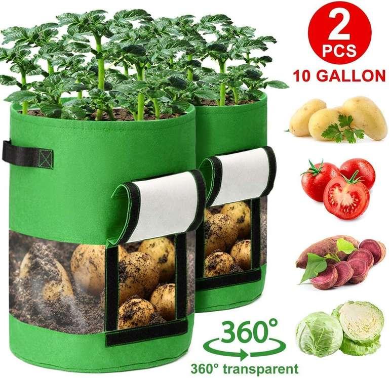 Caveen Pflanzentasche mit Sichtfenster im Doppelpack für 10,19€ inkl. Prime Versand (statt 17€)