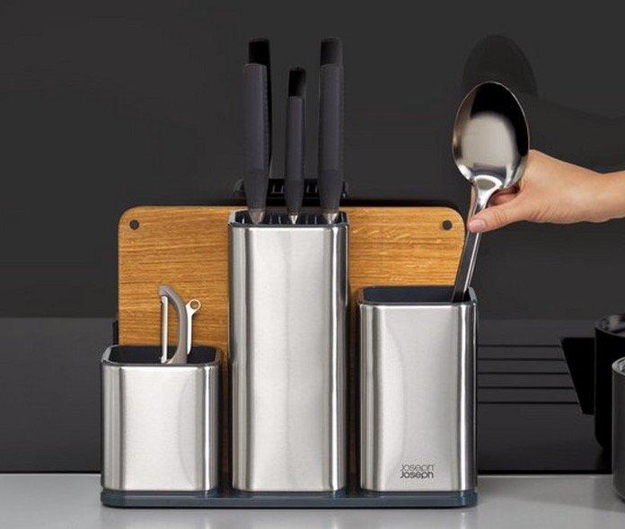 """Joseph """"CounterStore 100"""" Küchen-Organisator aus Edelstahl für 55,90€ (statt 66€)"""
